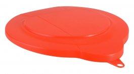 Pokrywa zpolipropylenu do 6-litrowego wiadra 56887, szczelna, pomarańczowa, VIKAN 56897