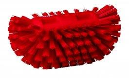 Szczotka do czyszczenia okrągłych zbiorników, twarda, czerwona, 205 mm, VIKAN 70374