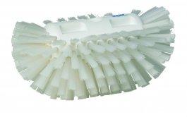 Szczotka do czyszczenia okrągłych zbiorników, twarda, biała, 205 mm, VIKAN 70375
