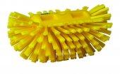 Szczotka do czyszczenia okrągłych zbiorników, twarda, żółta, 205 mm, VIKAN 70376