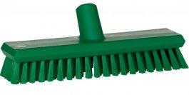 Szczotka przepływowa do mycia ściany lub podłogi, średnia, 270 mm, zielona, VIKAN 70432