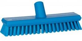 Szczotka przepływowa do mycia ściany lub podłogi, średnia, 270 mm, niebieska, VIKAN 70433