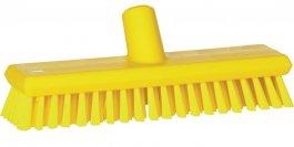 Szczotka przepływowa do mycia ściany lub podłogi, średnia, 270 mm, żółta, VIKAN 70436