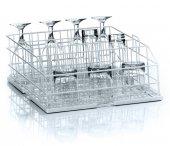 Kosz metalowy do zmywarki do szkła UC-S, czterorzędowy, wym. 400x400x155 mm