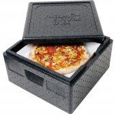 Pojemnik termoizolacyjny do pizzy 350x350x265 eco
