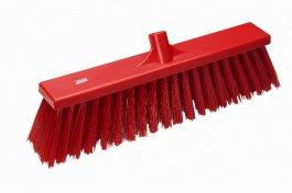Miotła ze sztywnym włosiem, czerwona, 530 mm, VIKAN 29204