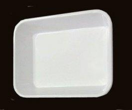 Pojemnik zmelaminy 20x15x4cm biały