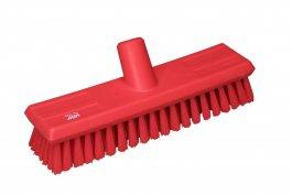 Szczotka przepływowa do mycia ścian, średnia, czerwona, 270 mm, VIKAN 70434