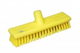 Szczotka przepływowa do mycia ścian, średnia, żółta, 270 mm, VIKAN 70436