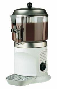 Czekoladziarka, dyspenser czekolady Scirocco White, poj. 5L