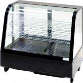 Witryna chłodnicza ekspozycyjna, poj. 100L LED czarna