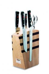 Zestaw 4kutych noży PREMIER PLUS wbloku magnetycznym, DICK 8809000