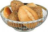 Kosz na chleb / owoce ze stali nierdzewnej 17x7 cm.APS 30200