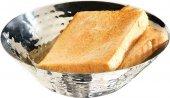 Miska na chleb / owoce ze stali nierdzewnej 16x5 cm.APS 30276