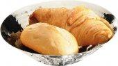 Miska na chleb / owoce ze stali nierdzewnej 20x5,5 cm.APS 30277