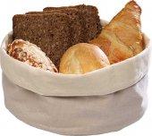 Koszyk na chleb beżowy 17x8 cm.APS 30340
