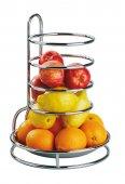 Stojak na owoce, etażerka, FRUITS BUFFET, chromowany, 27,5 cm, APS 33235