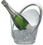 Misa na wino / szampana przezroczysta 23 x 22 cm.APS 36055