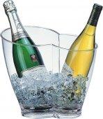 Misa na wino / szampana przezroczysta 30,5 x 21,5 cm.APS 36056