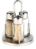 Zestaw Sól-Pieprz-Wykałaczka CLASSIC 10,5x16 cm.APS 40320