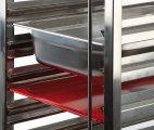 Wózek transportowy GN 1/1 ze stali nierdzewnej.APS 71441