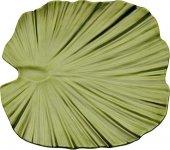 Taca w kształcie liścia NATURAL COLLECTION LIŚĆ z melaminy zielona 27 x 27 cm.APS 83865