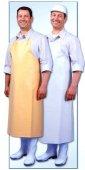 Fartuch ochronny gumowany, biały, długość 130 cm