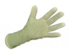 Rękawica bawełniana, gładka, długość 27cm