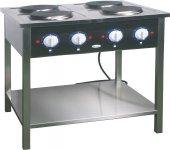 Kuchnia elektryczna 4-płytowa KE 47 (9,65 kW)