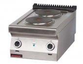 Kuchnia elektryczna 2-płytowa 700.KE-2 (5,2kW)