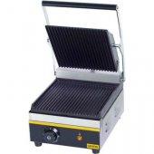 Kontakt grill pojedynczy, ryflowany, 742010