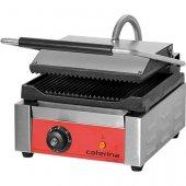 Kontakt grill pojedynczy CATERINA HIGH ryflowany/gładki, 742012