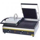 Kontakt grill podwójny, ryflowany, 742020