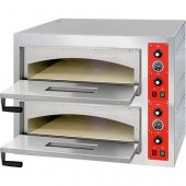Piec do pizzy 2-komorowy (2x4 pizze), 9kW