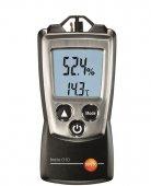 Termohigrometr kieszonkowy z futerałem, miernik temperatury i wilgotności, TESTO 610