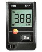 Higrometr wielofunkcyjny, 2-kanałowy rejestrator temperatury i wilgotności, TESTO 174H