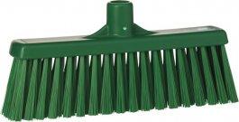 Miotła zpionowym włosiem, średnia, zielona, 310 mm, VIKAN 31662