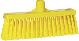 Miotła zpionowym włosiem, średnia, żółta, 310 mm, VIKAN 31666