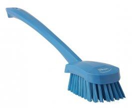 Szczotka do mycia zdługą rączką, niebieska, 415 mm, VIKAN 41823