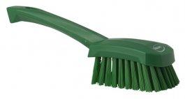 Szczotka do mycia zkrótką rączką, zielona, 270 mm, VIKAN 41902