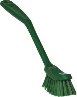 Szczotka ręczna do zmywania naczyń, średnia, zielona, 290 mm, VIKAN 42872