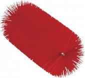 Szczotka do czyszczenia rur, do uchwytu 53515 i 53525, średnia, czerwona, 60x200 mm, VIKAN 53564