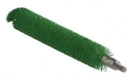 Szczotka do czyszczenia rur, do uchwytu 53515 i53525, średnia, zielona, 20x200 mm, VIKAN 53652