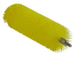 Szczotka do rur iodpływów, do uchwytu 53515 i53525, średnia, żółta, 40x200 mm, VIKAN 53686