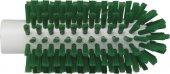 Szczotka do czyszczenia rur i maszyn, twarda, zielona, średnica 63 mm, VIKAN 5380632