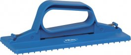 Uchwyt do pada, uchwyt ręczny do mycia, niebieski, 235 mm, VIKAN 55103