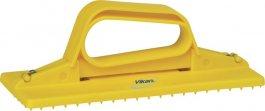 Uchwyt do pada, uchwyt ręczny do mycia, żółty, 235 mm, VIKAN 55106