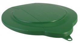 Polipropylenowa pokrywa do wiadra 6-litrowego, zielona, VIKAN 56892