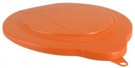 Polipropylenowa pokrywa do wiadra 6-litrowego, pomarańczowa, VIKAN 56897