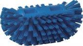 Szczotka do czyszczenia okrągłych zbiorników, twarda, niebieska, 205 mm, VIKAN 70373